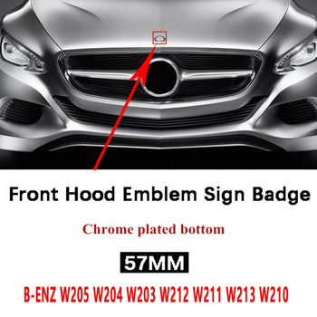 carmilla car styling car glass glasses box case for mercedes benz w211 w221 w220 w163 w164 w203 w204 a b c e slk glk cls ml gl Hight Quality 57mm Car Hood Emblem Badge For Mercedes Benz W205 W204 W203 W212 W211 W213 W210 W164 W124 A C E B Class