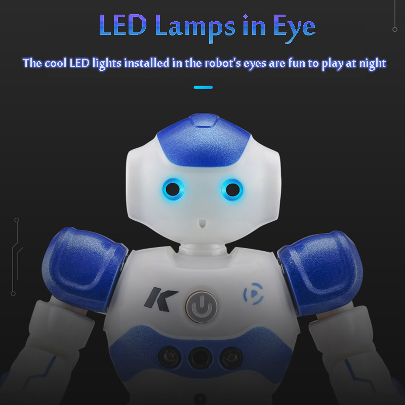 LEORY RC Robot Intelligent Programming Remote Control, Gesture Dance Robot For Children