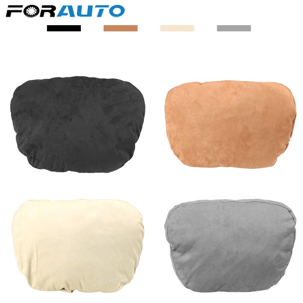 Süper yumuşak araba kafalık/oto koltuk örtüsü kafa boyun yastığı yastık/ayarlanabilir araba yastığı için Benz tasarım S sınıfı