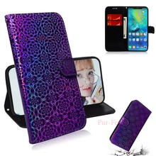 Case For Huawei P Smart 2019 POT LX1 LX1AF LX3 Wallet Holder Leather Luxury Phone Case For Huawei Glory 10 Lite Protection Cover(China)