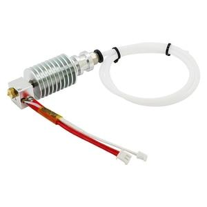 Image 1 - Bijgewerkt Recht type V5 J head voor ANCYUBIC I3 Mega 3D Printer Accessoires 0.4mm Nozzle 12V heater