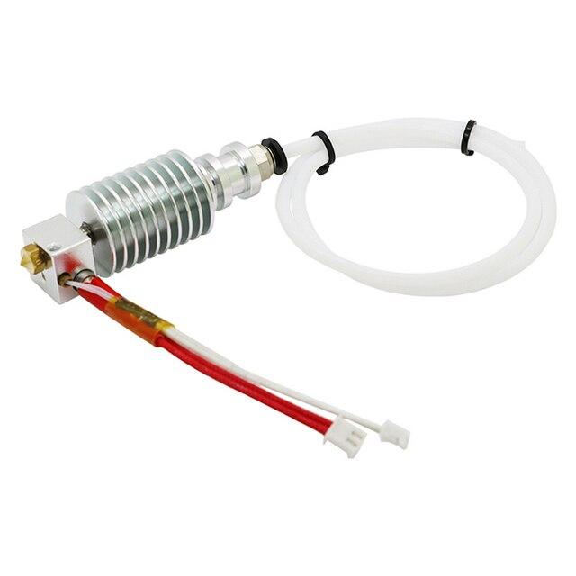 Bijgewerkt Recht type V5 J head voor ANCYUBIC I3 Mega 3D Printer Accessoires 0.4mm Nozzle 12V heater