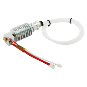 Image 1 - Updated Straight type V5 J head for ANCYUBIC I3 Mega 3D Printer Accessories 0.4mm Nozzle 12V Heater