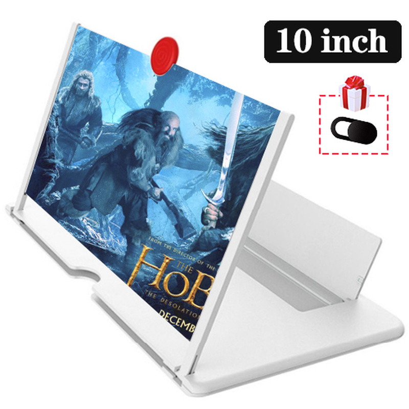 Orsda 10-inch HD 3D Mobile Phone Screen Amplifier Universal Video For Iphone Samsung Huawei Millet Phone Stand Screen 6