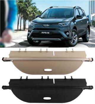 High Quality Trunk Security Screen Privacy Shield Cargo Cover For TOYOTA RAV4 RAV 4 2013 2014 2015 2016 2017 2018(Black Beige) image