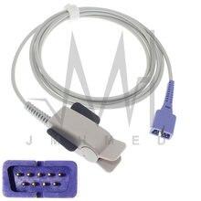 2pcs/box 3m Adult Finger Clip Oximetry Probe Cable Compatible with DB9 DS100A Oximax Spo2 Sensor of Nellcor Monitor