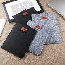 Замшевый защитный чехол для планшета, сумка для ноутбука, чехол для электронных книг, легкий чехол для 9,7 10,5 11 13 15 дюймов iPad Pro Kindle Macbook