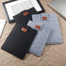 Suede Tablet Protection Case Laptop Bag e-Books Case Pouch Light Sleeve For 9.7 10.5 11 13 15 Inch iPad Pro Kindle Macbook