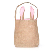Easter Bunny Rabbit Ears Gift Bags Dual Layer Eggs Gifts Shopping Carrying Bag Party Decoration