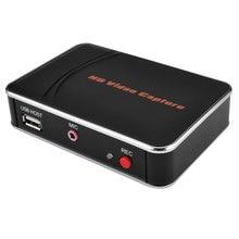 1080P HDMI enregistreur de capture de jeu vidéo prise en charge micro micro pour caméra HD, DVD, disque Flash PC vers USB directement, HDCP, pas besoin de pc