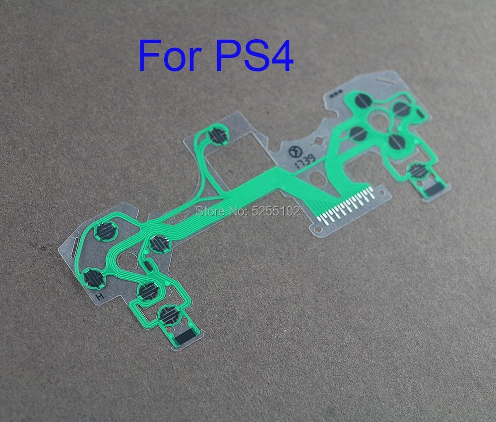 1pcs Original New For ps4 controller conductive film flex cable high quality for ps4 joystick repair part JDS-055 JDM-055(China)