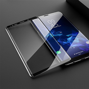Image 5 - Suntaiho Full Curved Screen Protector For Samsung Galaxy Note 10 S8 S9 Plus Note 8 9 Tempered Glass Film For Samsung A6 A8 2018