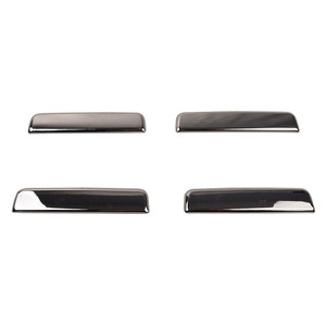 Image 2 - Car exterior door handles, electroplated handle decorative stickers for Toyota HILUX SURF LN185 1996 1997 1998 1999 2000