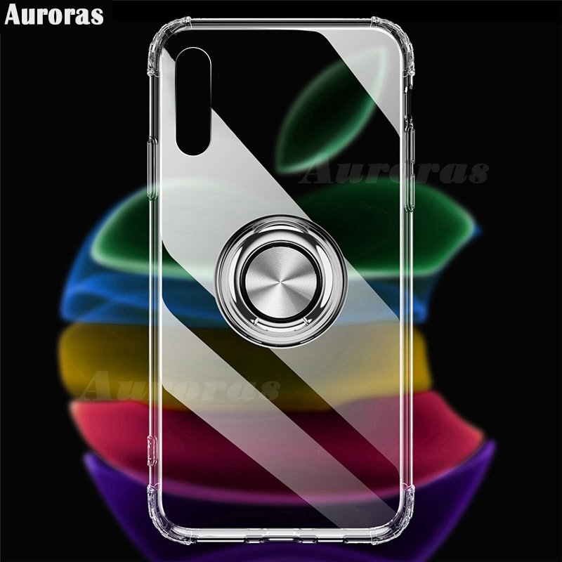 Auroras For Sony Xperia <font><b>10</b></font> ii Case Anti-fall Airbag Clear Case Shockproof With Ring Soft Cover For SONY Xperia <font><b>1</b></font> <font><b>5</b></font> <font><b>10</b></font> Plus II image