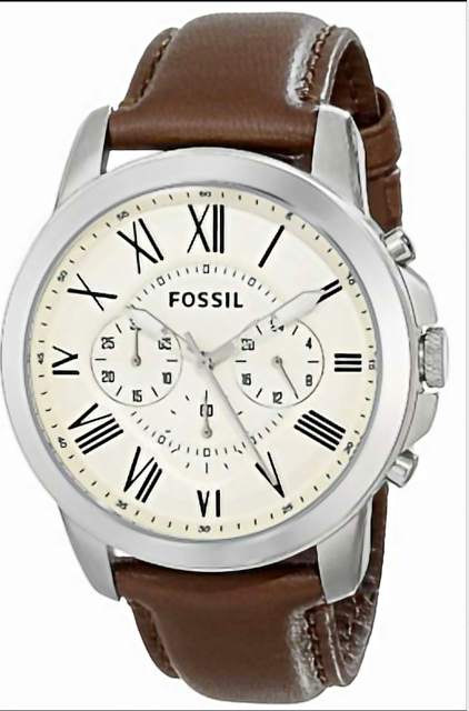 2020 Fossil Top Quality Fashion Men's Watch with Leather Strap Quartz Wristwatch Male And Female Couples Tide Brand Watches