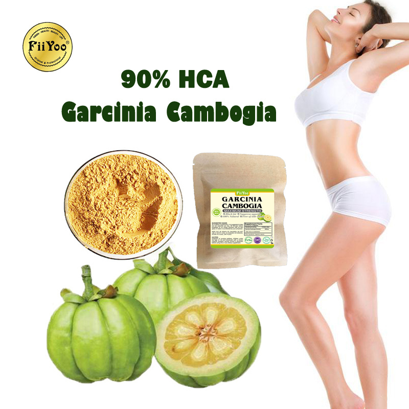 (3 Packs) FiiYoo 100% Natural Garcinia Cambogia Extracts Slimming Powder 90% HCA Weight Loss For Men & Women
