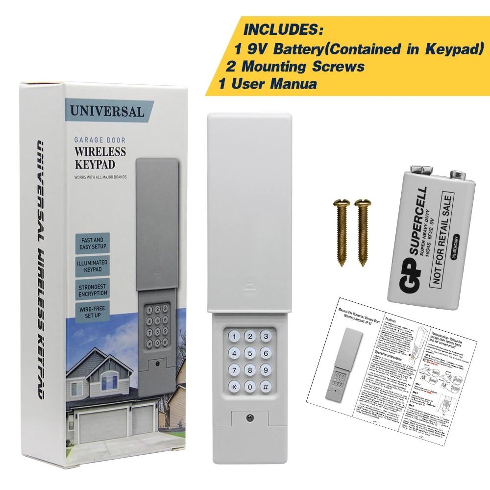 Latest Model 2020 Garage Door Keypad Compatible Brand Usa Garage Door Opener Wireless Keypad Genie Garage Door Opener Convenient Door Remote Control Aliexpress