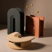 Nordic Morandi Art Vase Ceramic Simple Living Room Creative Home Table Flower Vases For