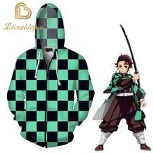 Толстовка унисекс с длинным рукавом аниме свитшот 3d пуловер