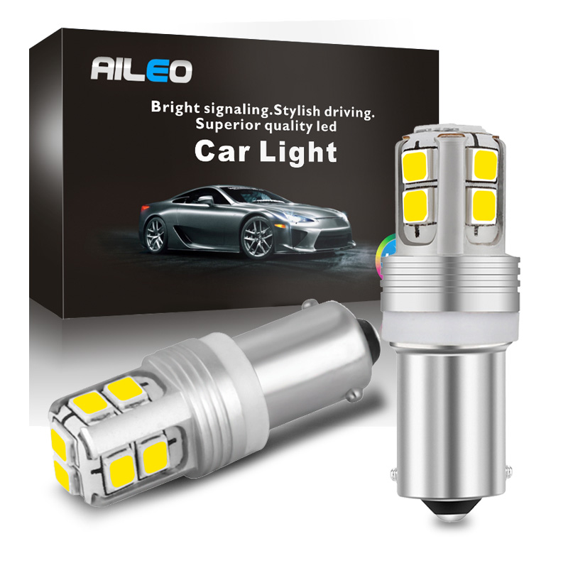 AILEO 5 Colors To Choose From Canbus Error Free BA9S LED BAY9S BAX9S T4W H6W Reading Lights License Plate Light Reverse Lights