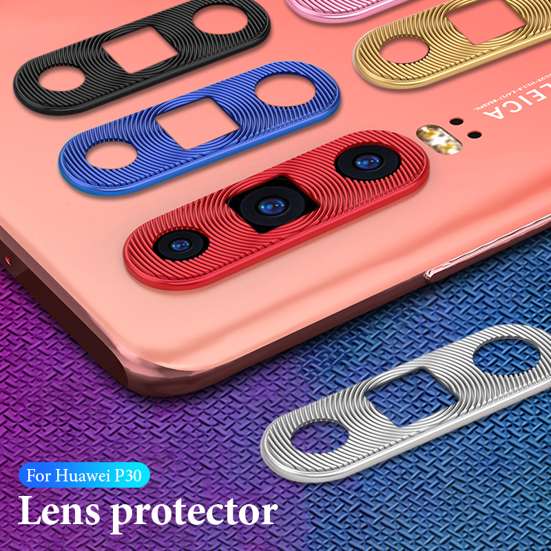 Colorful Camera Len Cover For Huawei P30 P 30 Ring Plating Aluminum For Huawei P30 Lite P30 Pro Camera Protector Ring Protection