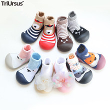 Attipas Baby Boys Girls Shoes Newborn Girls Boys Floor Socks Cartoon Infant Baby Foot Socks First Walkers