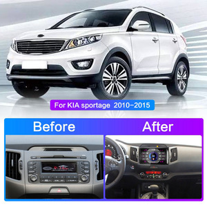 Image 2 - 2DinรถAndroidวิทยุมัลติมีเดียสำหรับKIA Sportage 2010 2011 2012 2013 2014 2015 2 Din Autoradio GPS navi WIFI 10.0