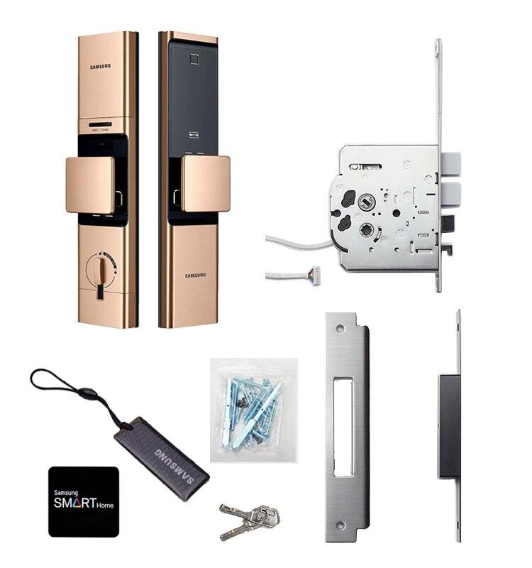 2019 NEUE SAMSUNG Fingerprint Digital Wifi Türschloss IoT Keyless SHP DR719 Große Moritse - 6