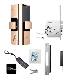 Image 5 - 2019 Nieuwe Samsung Vingerafdruk Digitale Wifi Deurslot Iot Keyless SHP DR719 Grote Moritse