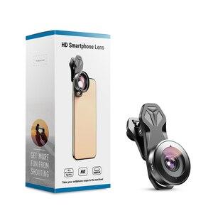 Image 4 - Apexel 195 Độ Ống Kính Mắt Cá Máy Quay Ống Kính Cho Hai Ống Kính Ống Kính Đơn iPhone, Điểm Ảnh, samsung Galaxy Tất Cả Các Điện Thoại Thông Minh Dành Cho Xiaomi