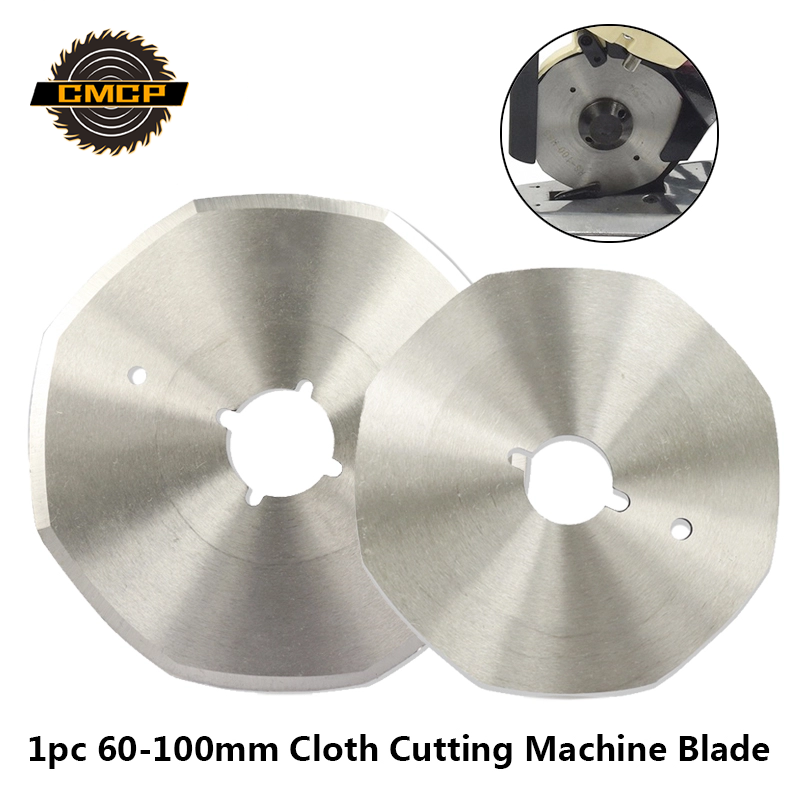 1pc 65mm 70mm 90mm 100mm Diameter HSS Cloth Cutting Machine Blade Fabric Cutting Machine Saw Blade Circular Cutting Disc