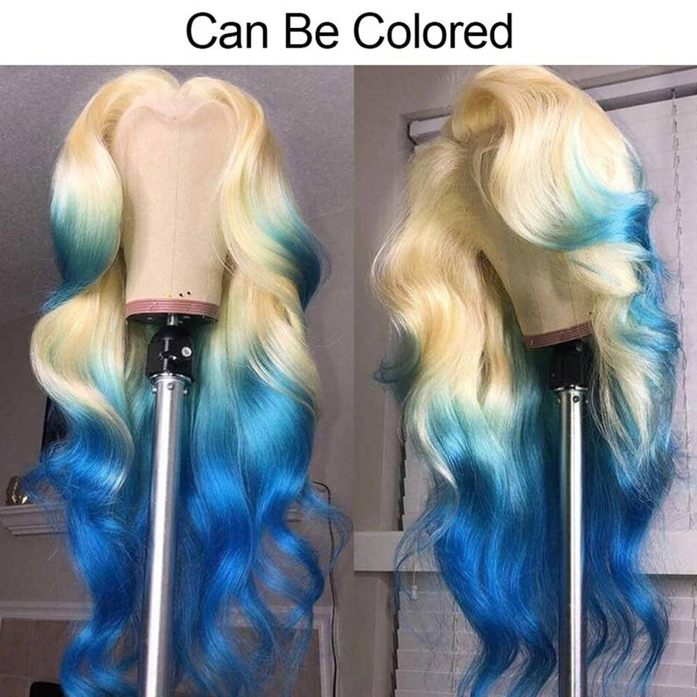 613 Honey Blonde lace front wig  Body Wave Lace Front  Wig 8-26 inch Ombre Frontal Wigs for Black Women 4