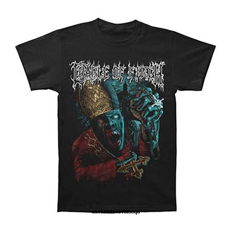 Camisetas divertidas Cradle of Filth para hombre vampiro cura camiseta negro