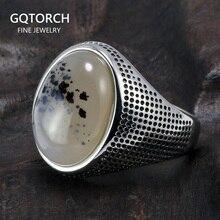 Genuine Solid 925 Sterling Zilveren Ringen Cool Minimalistische Paar Ringen Met Natuurlijke Kleur Stenen Voor Vrouwen Mens Turkse Sieraden