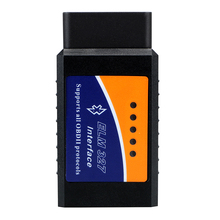 ماسح ضوئي للسيارة ELM327 ، أداة تشخيص تلقائية ، قارئ أكواد ، لنظام Android ، ELM 327 V2.1 ، مقبس OBD2