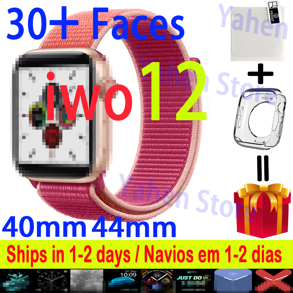 <font><b>IWO</b></font> 12 <font><b>Smart</b></font> Uhr serie 5 40MM 44MM Bluetooth iwo12 pro Für Apple IOS Android telefon Herz Rate smartwatch PK <font><b>IWO</b></font> 11 Pro 8 13 9 image