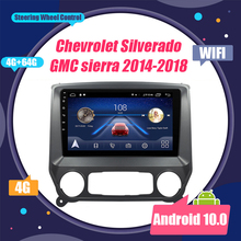 Android 10 KEINE DVD-2Din Auto Radio Multimedia Video Player Navigation GPS Für Chevrolet Silverado GMC Sierra 2014-2018 kopf Einheit