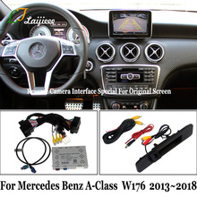 Screen Parking-Camera Rear-View W176 Mercedes-Benz No for Class Update OEM No-Need Programming