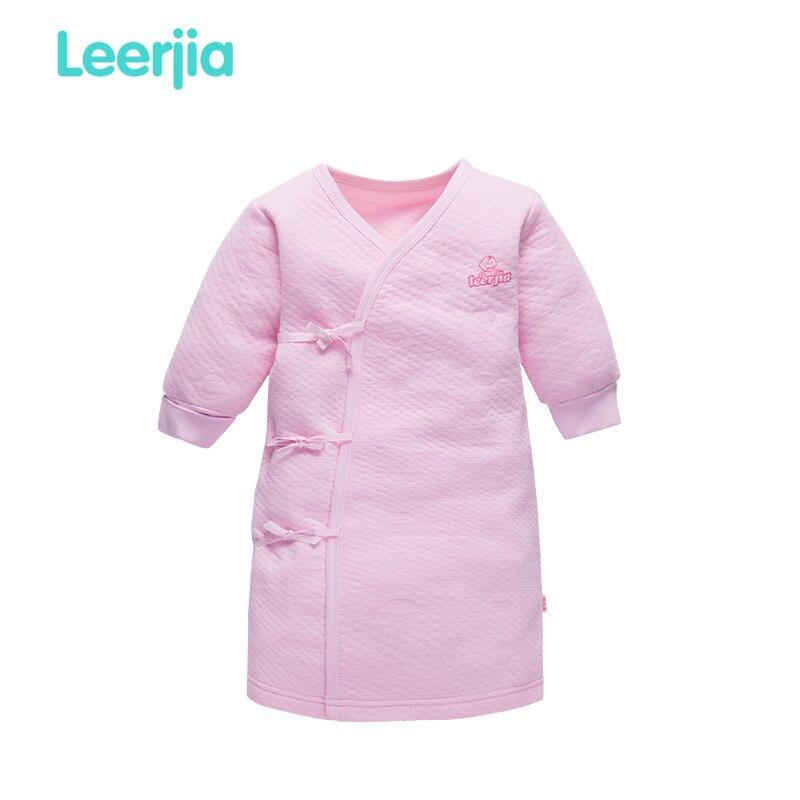 Infant Newborns Baby Children Jacquard Robe Underwear Pajamas Warm