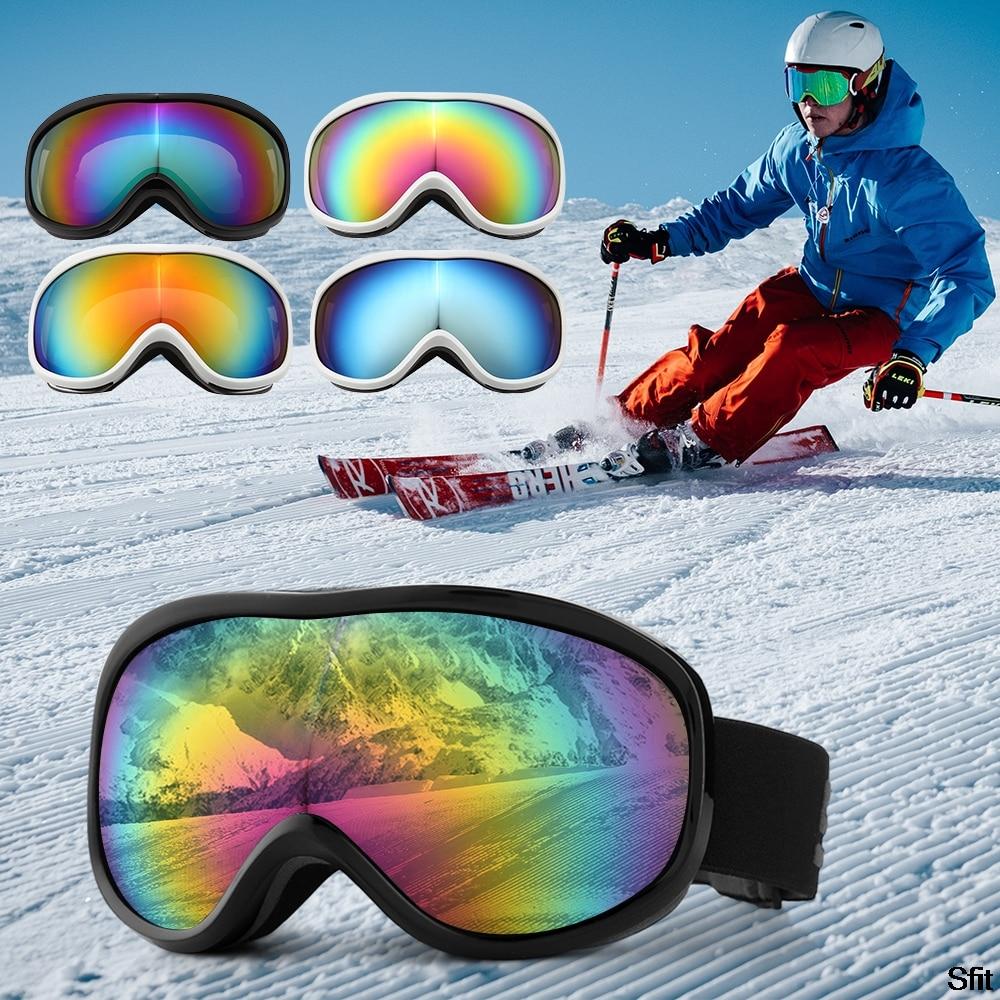 Fashion Brand Ski Goggles Men Women Snowboard Goggles Glasses For Skiing Protection Snow Skiing Glasses Anti-fog Ski Mask