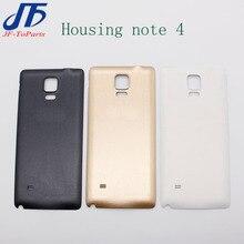 10pcs אחורי דיור מקרה החלפה עבור Samsung Galaxy הערה 2 3 4 Note2 Note3 Note4 סוללה כיסוי דלת אחורי כיסוי אחורי