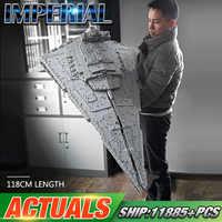 DHL 05027 Star Toys Wars MOC-23556 Imperial Star Destroyer zestaw kompatybilny z Lepining 75252 zabawki dla dzieci prezenty klocki