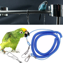 6M Bird Parrot Leash Kit Anti-bite Flying Training Rope Straps Leash Starling for Agapornis Cockatiels Parrot Leash(China)