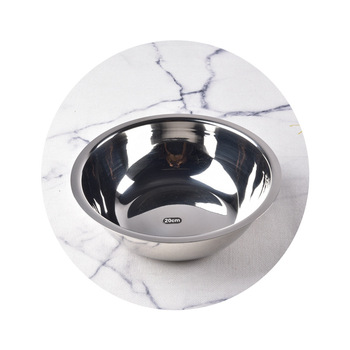 14CM Stainless Steel Mixing Bowl For Salad And Soup Bowl