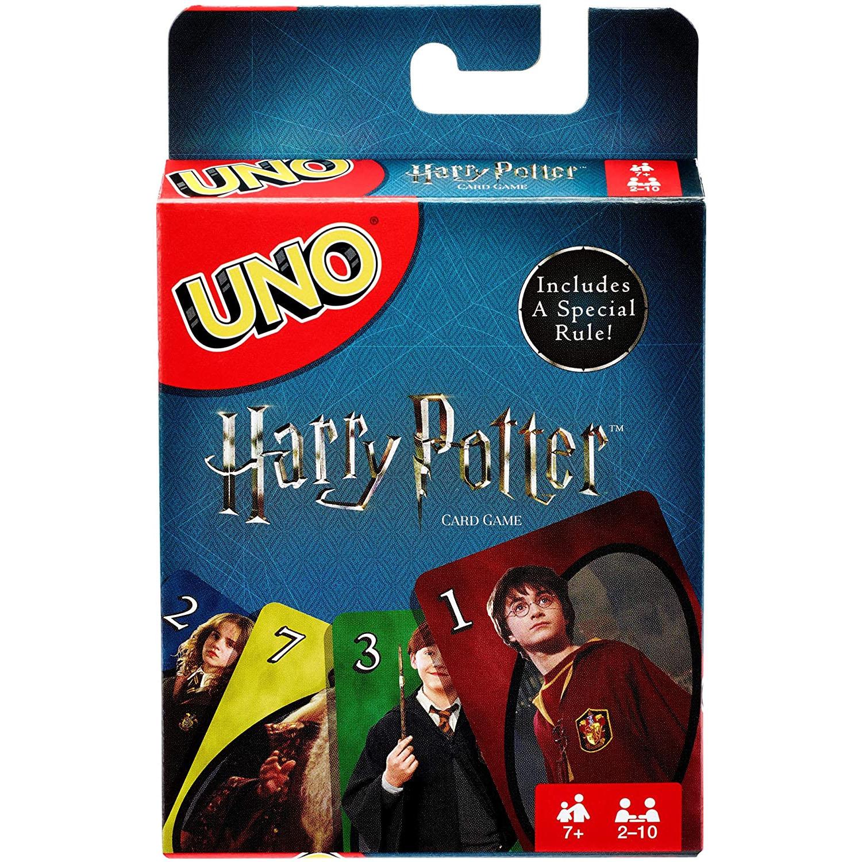 Игры Mattel UNO Гарри Поттер, семья, забавная развлечение настольная игра, веселые игральные карты, Подарочная коробка, карточная игра Uno