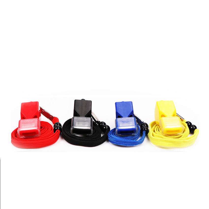 1pc FOX Seedless Plastic Whistle, Professional Soccer Referee Coach Whistle, Basketball Volleyball Training Referee Whistle