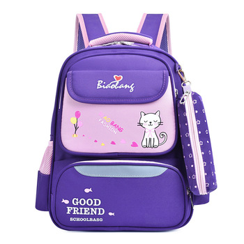 Kids School Bags Orthopedic Backpack Schoolbag Waterproof School Bags For Girls boys Children scool Backpacks Mochila Escolar цена 2017