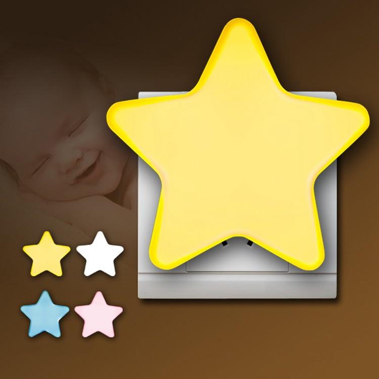 ЕС/американским штекером с использованием светодиодный ночной Светильник детская спальня детская одежда детские футболки с принтом в виде...