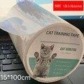 Защита на мебель кошачья Защита от царапин, рулон ленты против царапин, прозрачная наклейка для дивана, товары для домашних животных