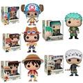 FUNKO японское аниме D. Luffy Roronoa Zoro Trafalgar Law ПВХ экшн-фигурка модели игрушки для детей Рождественский подарок
